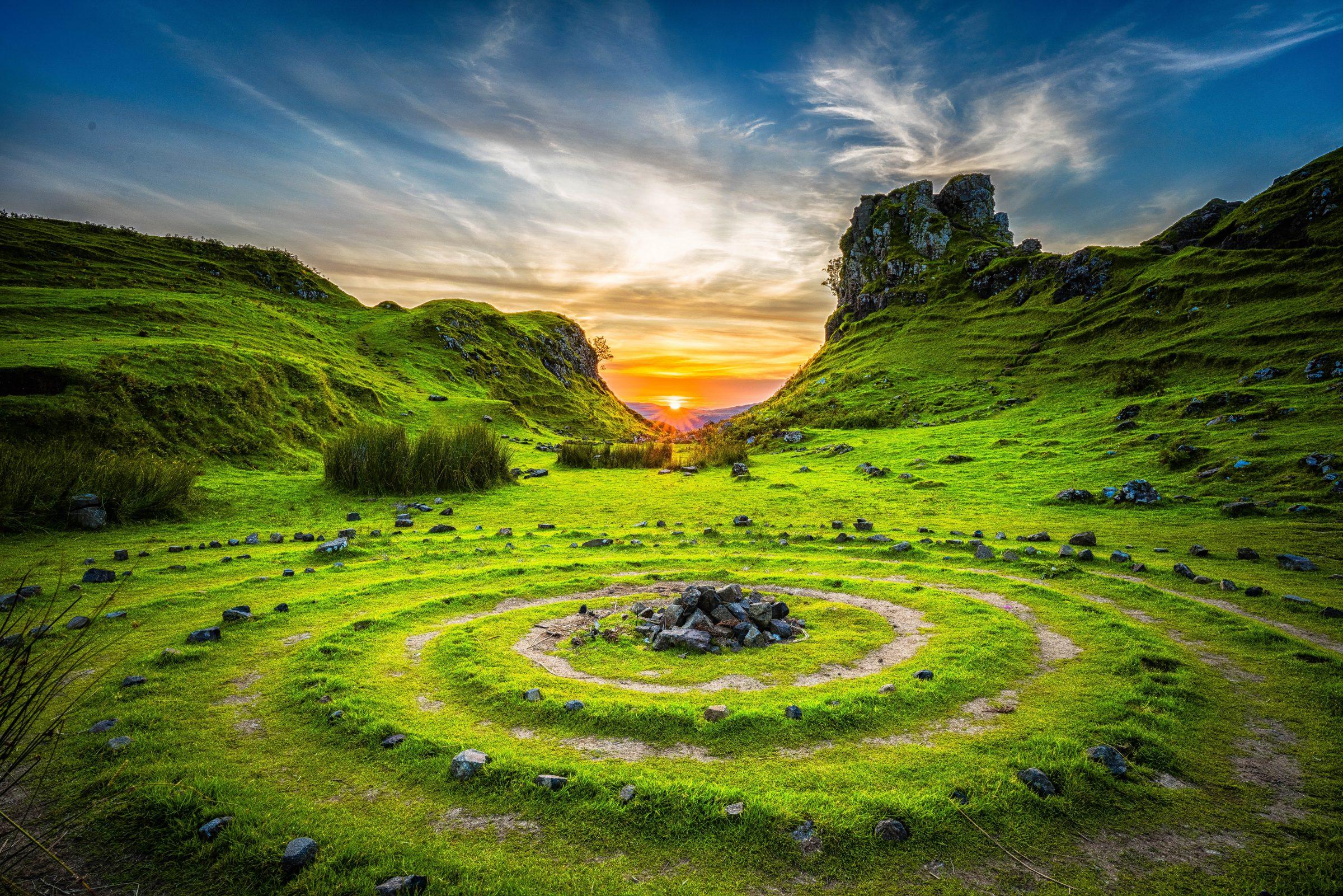 steinkreis-sunset